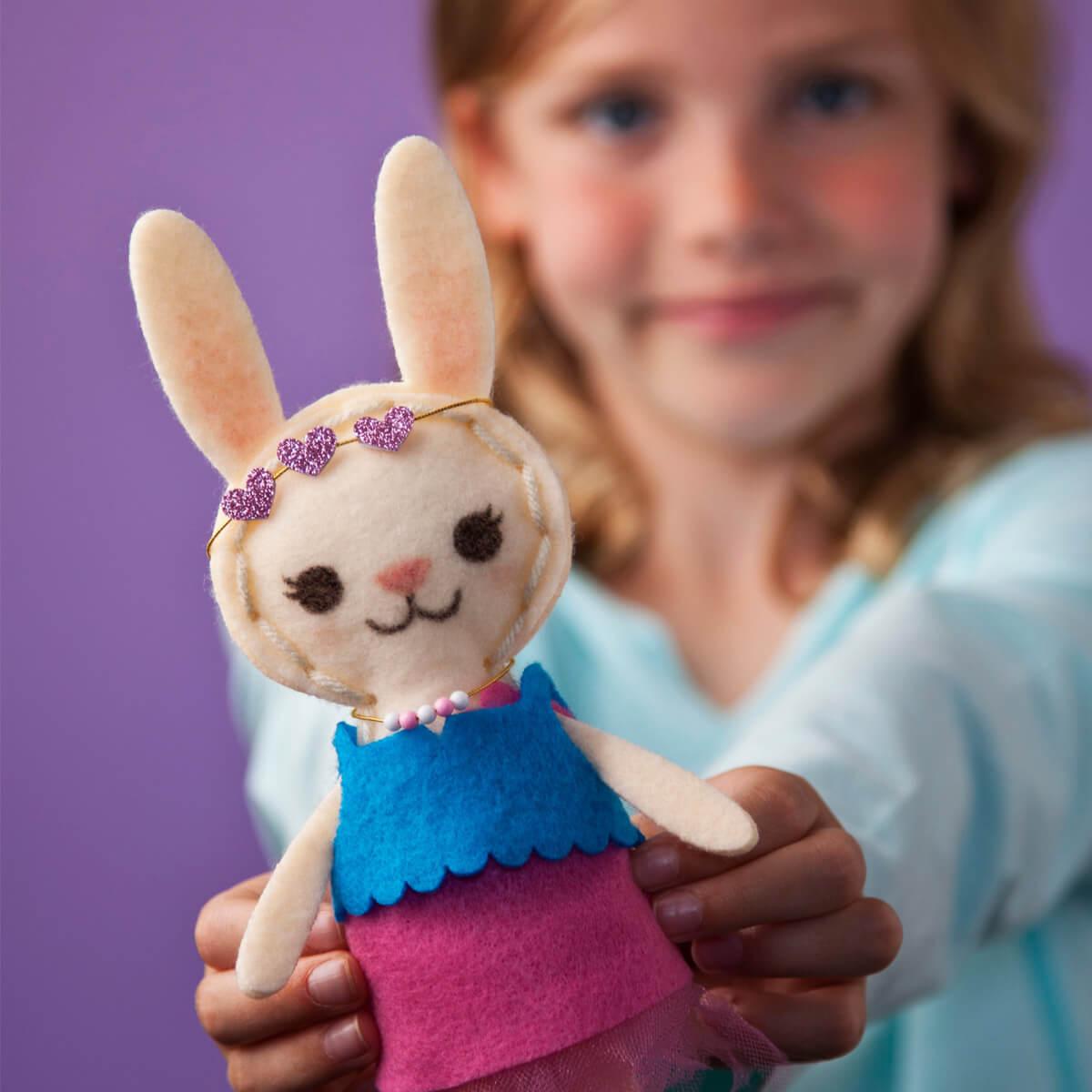 Dress up your DIY bunny
