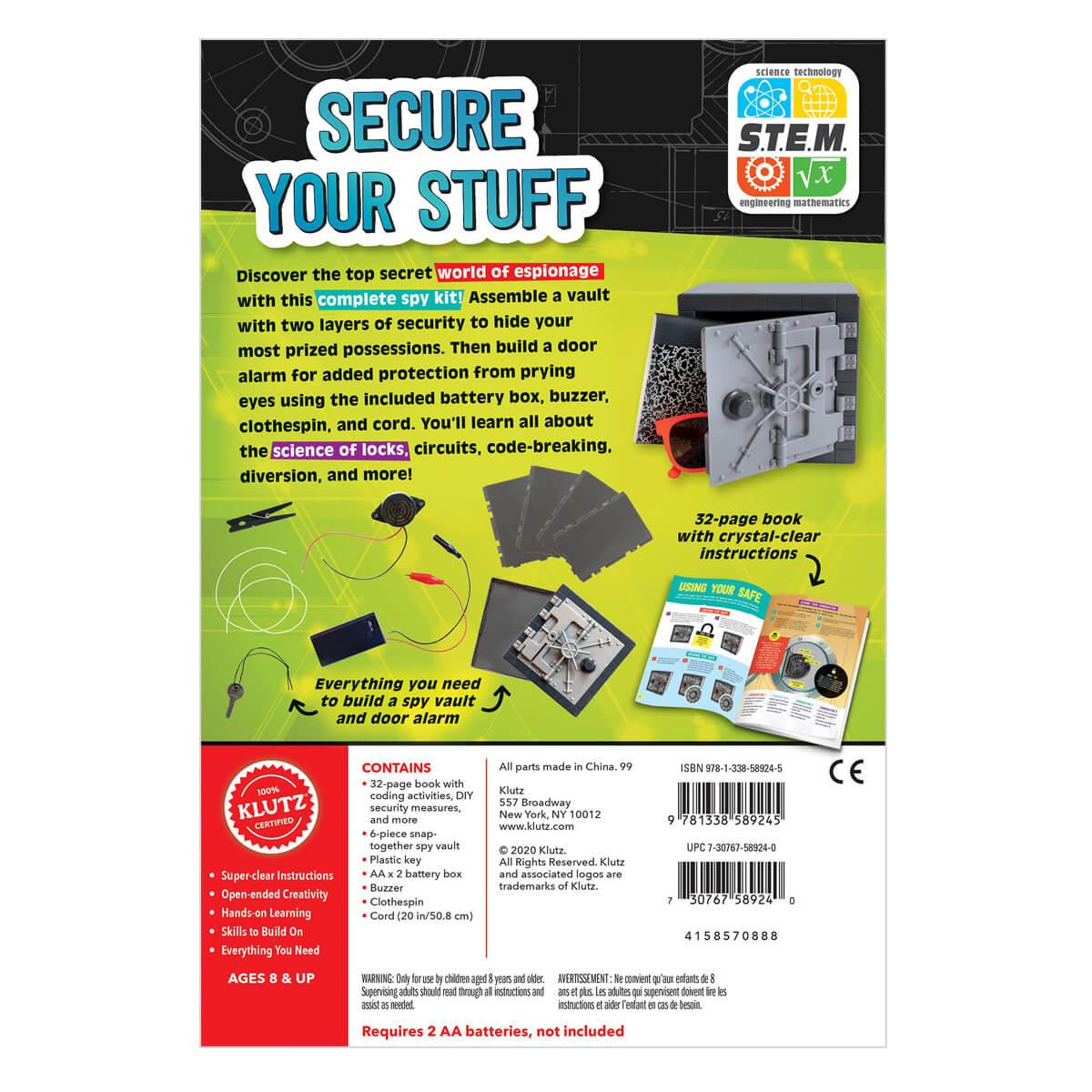 Ultimate Spy Vault and Code Kit