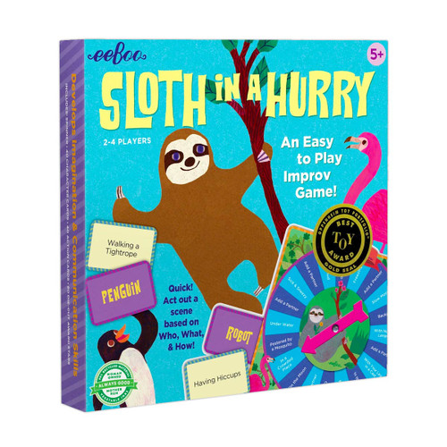 sloth in a hurry improv game