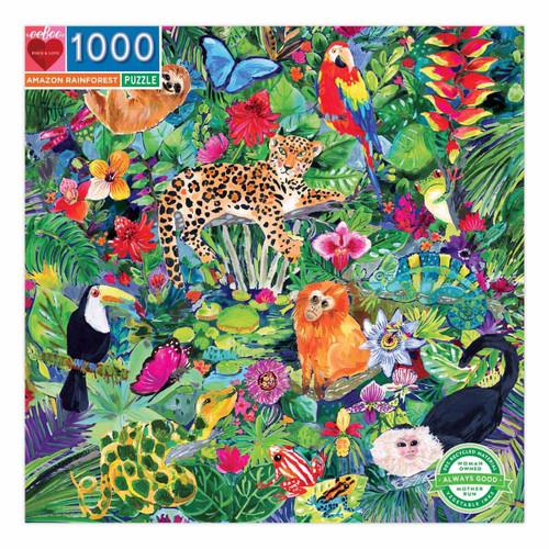 Rainforest 1000 Piece Jigsaw Puzzle