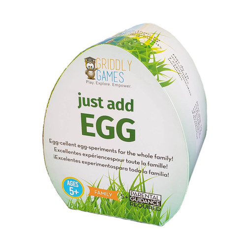 Just Add Egg Organic Science and Ar