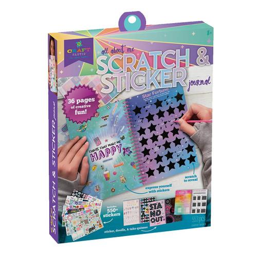 Scratch & Sticker Journal Craft Kit