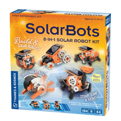 SolarBots 8-in-1 Solar Robot Kit