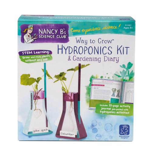 Hydroponics Kit & Gardening Diary