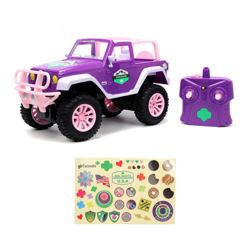 Girl Scout Remote Control Jeep