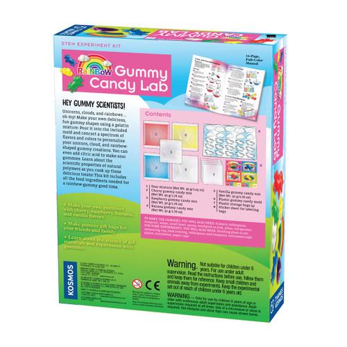 Unicorn Gummy Candy Lab Kit