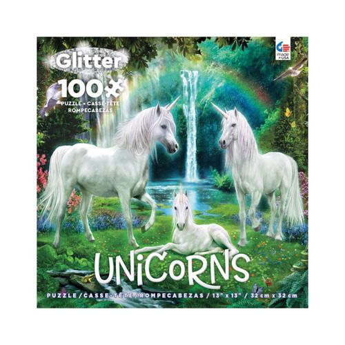 Glitter Unicorn Jigsaw Puzzle 100pc
