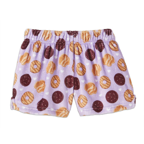 Girl Scout Cookies Plush Lounge Shorts - Girls