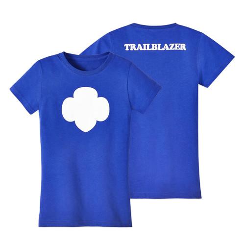 trailblazer trefoil t-shirt girls