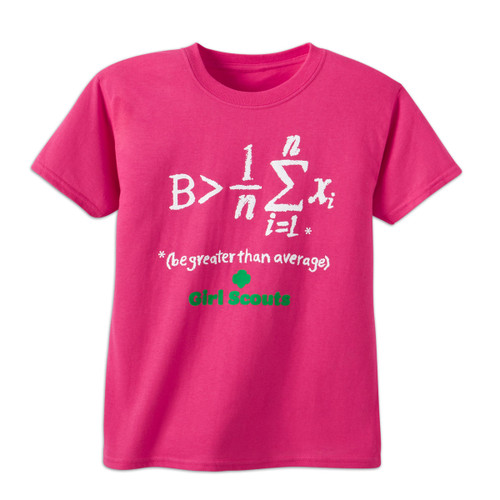 """Equation tee """"Greater than avg."""""""