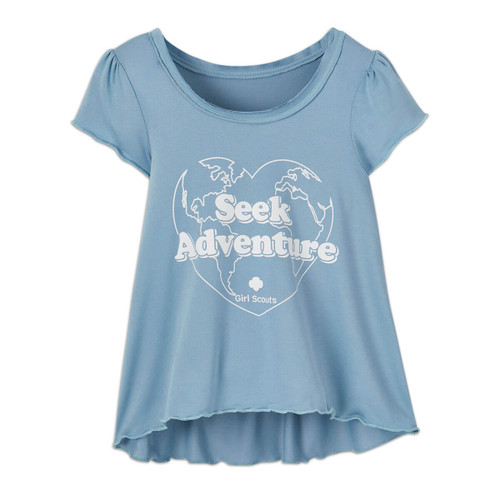 Seek Adventure High-Low Top