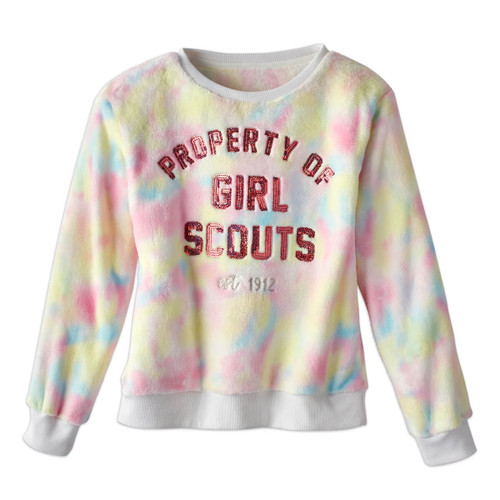Property of Girl Scouts Sequin Top