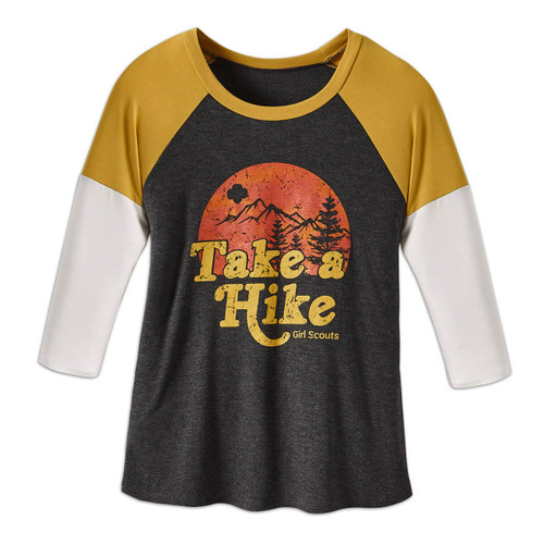 Take a Hike 3/4 Sleeve Shirt