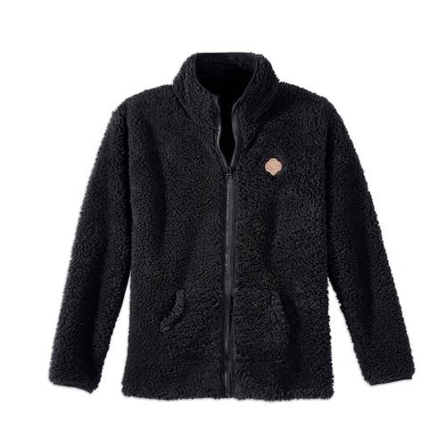Sherpa Full-Zip Jacket - Misses