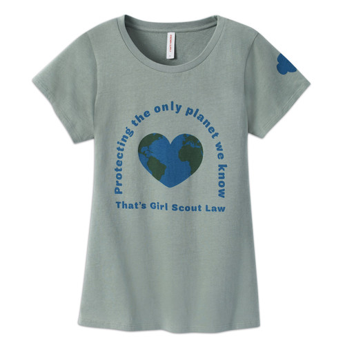 protecting the planet womens tee